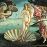 Botticelli: Die Geburt der Venus (La nascita di Venere)
