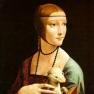 Leonardo da Vinci: Dame mit dem Hermelin (Porträt der Cecilia Gallerani).