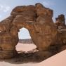 Forzhaga-Bogen in Tadrart Acacus, Südwest-libyen