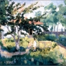 Malevich Summer Landscape