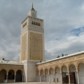 Minaret Zitouna cour