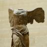 Nike von Samothrake. Parischer Marmor, ca. 190 v.Chr. ? Fundort: Samothrake, 1863.