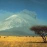 Ol Doinyo Lengai eruption 1966