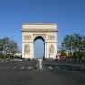 Paris, Arc de Triomphe (Triumphbogen)