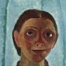 Paula Modersohn-Becker, Selbstporträt mit Kamelienzweig