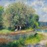 Pierre-Auguste Renoir: Blühender Roßkastanienbaum | Horse-chestnut Tree in flower | Le marronnier en fleurs (1881)