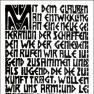 Ernst Ludwig Kirchner: Programm der Brücke, Holzschnitt von 1906
