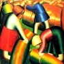 Taking in the Rye Kazimir Malevich 1911