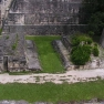 Ballspielplatz der Maya in Tikal, Guatemala.
