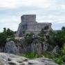 Ruinen der Mayas in Tulúm