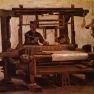 Vincent van Gogh: Weber am Webstuhl (1884)