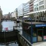 Hamburg: Innenstadt, Rathausmarkt, Rathausschleuse