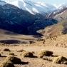 Dorf im hohen Atlas (West)