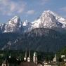 Berchtesgaden, Watzmann im Hintergrund
