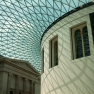 Roof of the Great Court at the British Museum