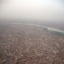 Waving goodbye to Khartoum.