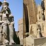 Statuen des Ramses II