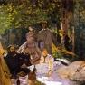 Claude Monet: Frühstück im Freien (1865 � 1866)