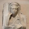 Grabrelief einer Frau aus Palmyra, syrien