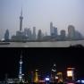 Shanghai Pudong tags/nachts