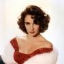 Studio publicity portrait of the American actress Elizabeth Taylor