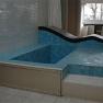 Villa Savoye: Das Bad, ausgekleidet mit Fliesen aus Glas