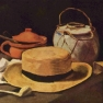 Vincent van Gogh: Stilleben mit Strohhut und Pfeife, 1885