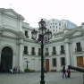 Patio de los Canones del Palacio de La Moneda
