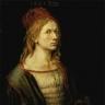 Albrecht Dürer: Selbstportrait mit Eryngium