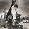 Francisco de Goya: Los desastres de la guerra, Platte 36 (Titel: Tampoco)