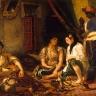 Eugène Delacroix: Frauen von Algier, frz. Femmes d´Alger dans leur appartement (1834)