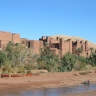 Aït Benhaddou am Flußufer