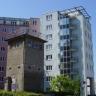 ehemaliger Grenz-Wachturm an der Habersaathstr. (Berlin-Mitte)