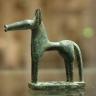 Statuette eines Pferdes Olympia, um 740 v. Chr.