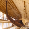 Solarschiff von Khufu, Vorderansicht